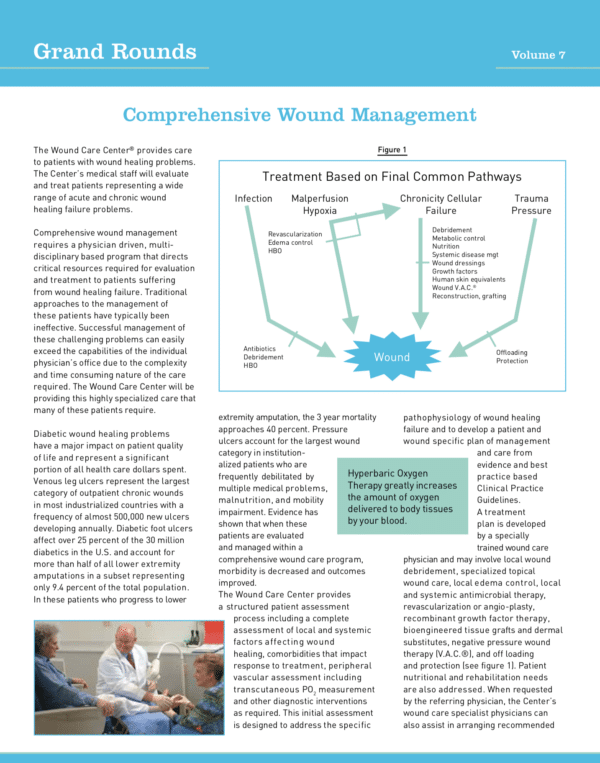 Grand Round: Comprehensive Wound Management