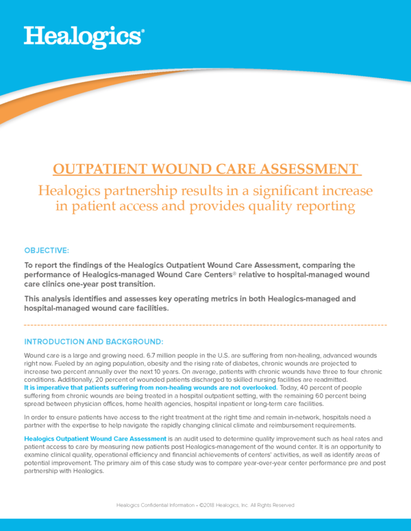 Outpatient Wound Care Assessment