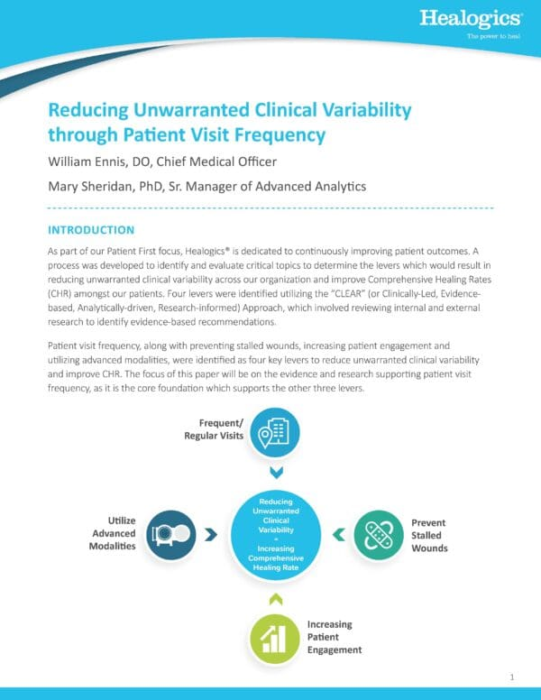 Reducing Unwarranted Clinical Variability through Patient Visit Frequency
