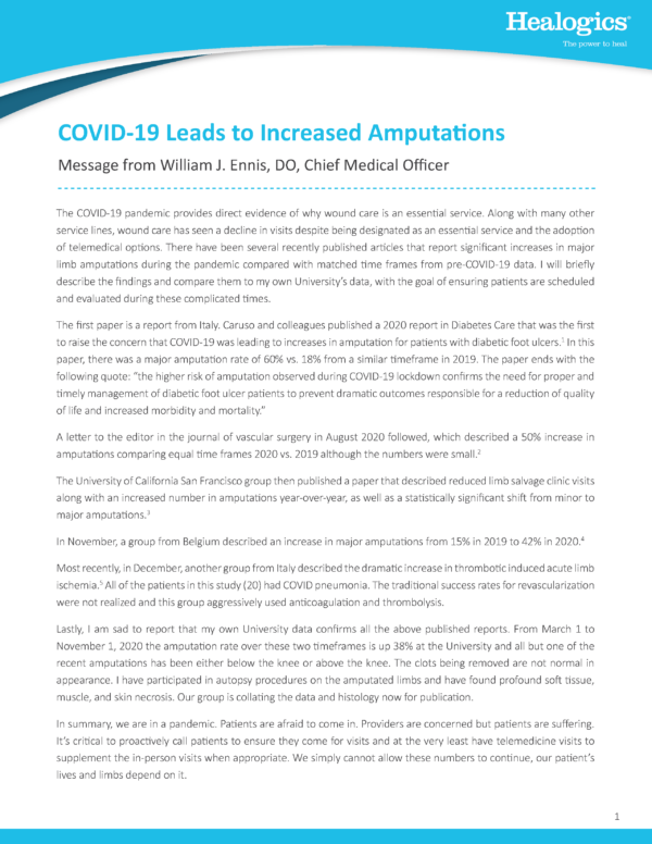 Download COVID-19 Leads to Increased Amputations