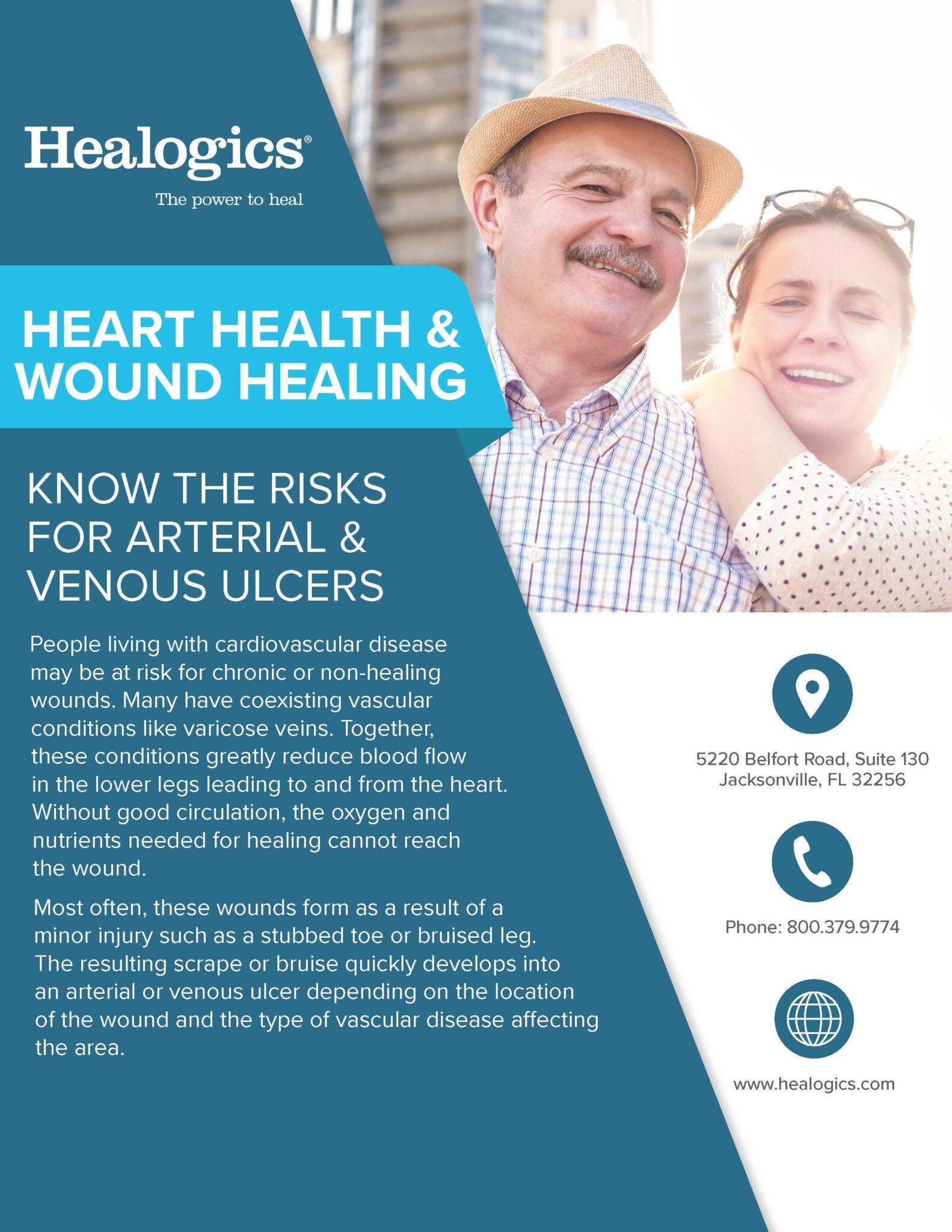 arterial vs venous ulcer