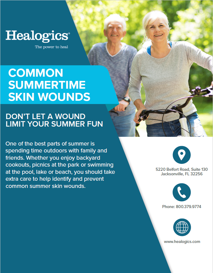 Common Summertime Skin Wounds
